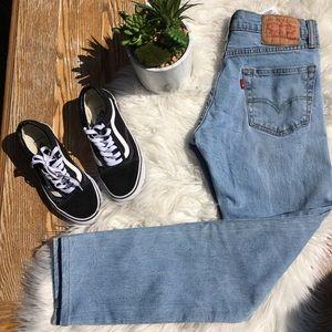 511 Levi's straight leg vintage jeans 29x30